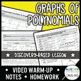 Graphs of Polynomials Lesson