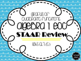 Algebra I STAAR Review: Graphs of Quadratic Equations