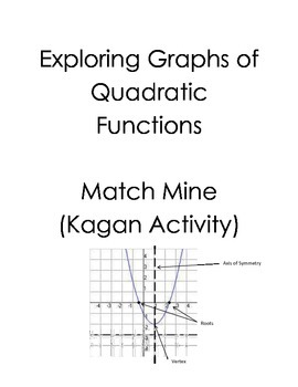 Graphs of Quadratic Functions Match Mine (Kagan)