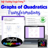 Graphs of Quadratics Transformations with Google™ Forms