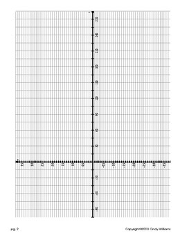 Graphs of the Other Trig Functions Workbook