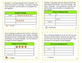 Graphs,Tables and Data Task Cards