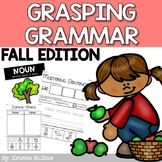 Nouns, Verbs and Adjectives- Fall Edition