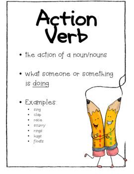 Grasping Grammar-Nouns & Verbs UPDATED 2017