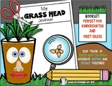 Grass Head Science Journal  {Growing Hair Experiment} Kind