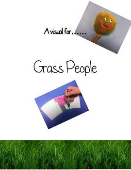 Grass People Craft Visual