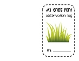 Grass Plant Observation Log