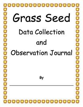 Grass Seed Observation Journal