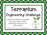 Grass Seed Terrariums: Engineering Challenge Project ~ Great STEM Activity!