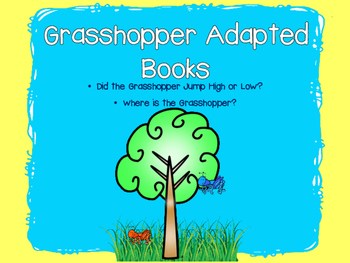 Grasshopper Adapted Books