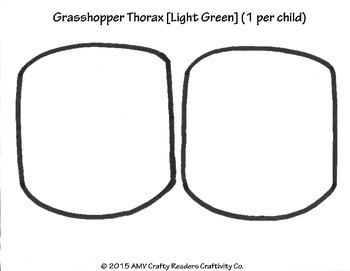 Grasshopper Craftivity