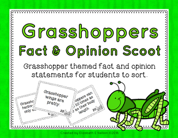 Grasshopper Fact and Opinion Scoot