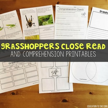 Grasshoppers Close Read | Grasshopper Lifecycle