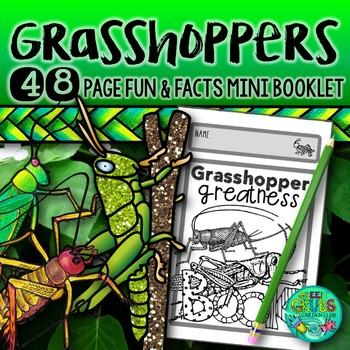 Grasshoppers! {Fun and facts about grasshoppers,crickets,