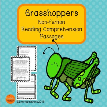 Grasshoppers Reading Comprehension