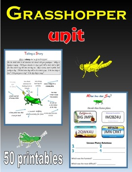 Grasshoppers Unit (Insects)