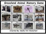 Grassland Animal Memory Game