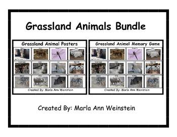 Grassland Animals Bundle