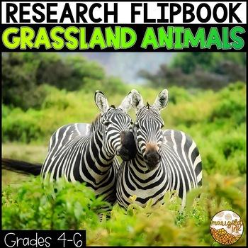 Grassland Animals Research Project Flipbook!