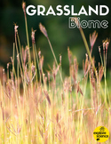 Grassland Biome Activity Kit (Pre-K and K, NGSS & CC)