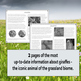 Grassland Biome Reading Passages, Mapping, and Color by Number Worksheet