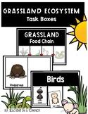 Grassland Ecosystem Task Boxes