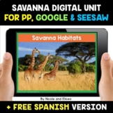 Grassland and Savanna Habitats Digital Activities for Goog