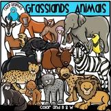 Grasslands Animals Clip Art Set - Chirp Graphics
