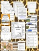 Grasslands Biome Habitat Science Pack (Worksheets, Vocabulary, Chart, Foldables)