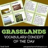 Grasslands Vocabulary Concept of the Day