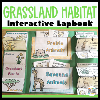 Grasslands: Interactive Lapbook