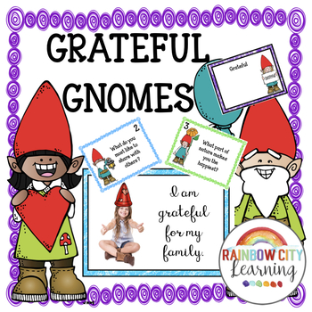 Gratitude SCOOT Game, Posters, Discussion Prompt Cards, Photo Booth props