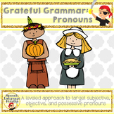 Grateful Grammar Pronouns - Leveled