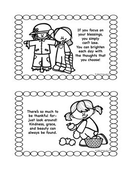 Character Education Story #1 (Public School Edition): Color-N-Read Mini Book