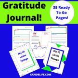 Gratitude Journal- My 10 Little Things