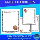 Grateful for You Cards