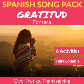 Gratitud by Fonseca: Spanish Song to Practice Listening Comprehension
