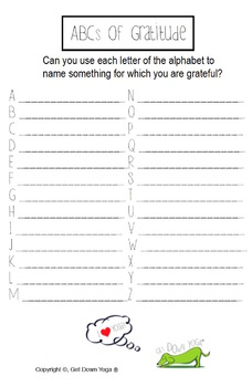 Gratitude: A Children's Yoga Lesson