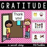 Gratitude: A Social Story