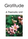 Gratitude: A Thematic Unit