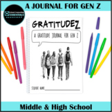 15-week Journal for Gen Z- Gratitude- Abundance Mindset- R