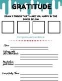 Gratitude Activities Packet