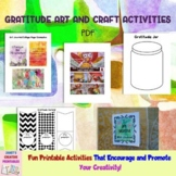 Gratitude Art and Craft Activity Printables - Commercial U