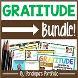 Gratitude BUNDLE:  All Gratitude Activities