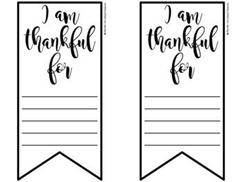 Gratitude Banner {freebie}