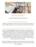 Gratitude Blurbs - Seasonal Worksheets for practicing Grat