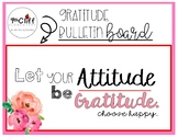 Gratitude Bulletin Board