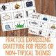 Gratitude Classroom Guidance Lesson Elementary School Gratefulness Activity