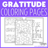 Gratitude Coloring Pages | Kindness Printable | Thanksgiving Coloring Pages