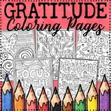 Gratitude Coloring Pages | Thanksgiving Coloring Pages